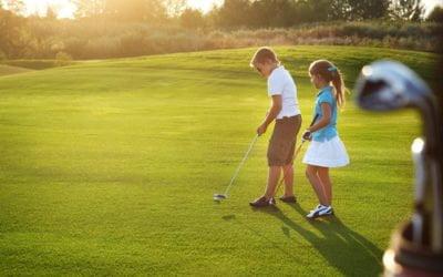 L'école de golf fait sa rentrée !!